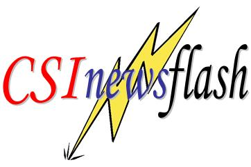 CSI Newsflash Logo
