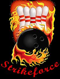 Strikeforce Bowling Team Logo